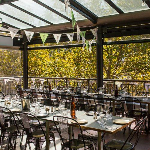 Hophaus Dining Terrace